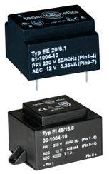 Transformatory niskoprofilowe od 20 do 300 kHz Semicon